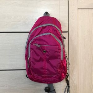 Pink Swiss Army One Shoulder Backpack